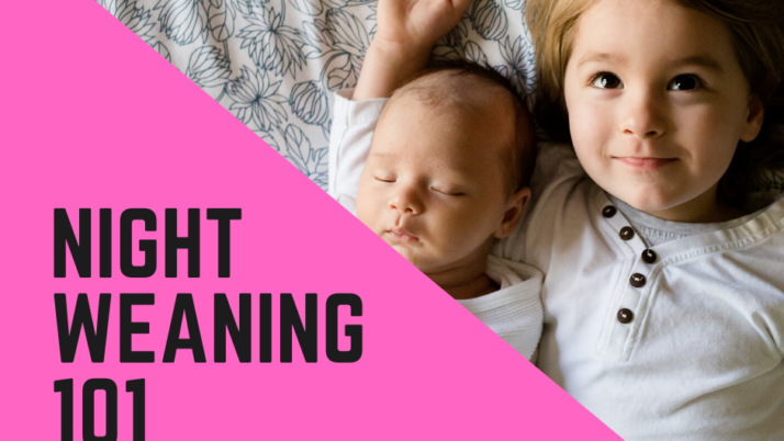 Navigating Night Weaning